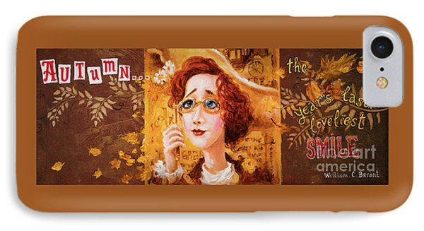 IPhone Case featuring the painting Autumn by Igor Postash