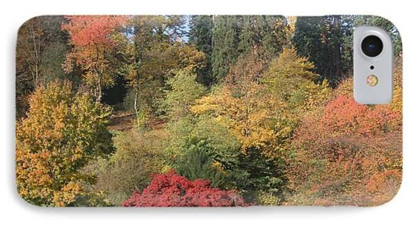 IPhone 7 Case featuring the photograph Autumn In Baden Baden by Travel Pics