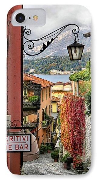 Autumn In Bellagio IPhone Case