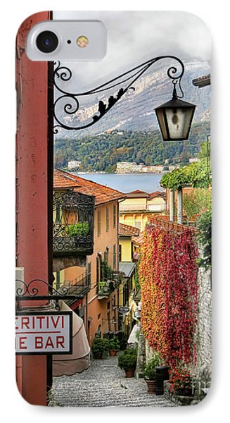 Autumn In Bellagio IPhone Case by Jennie Breeze