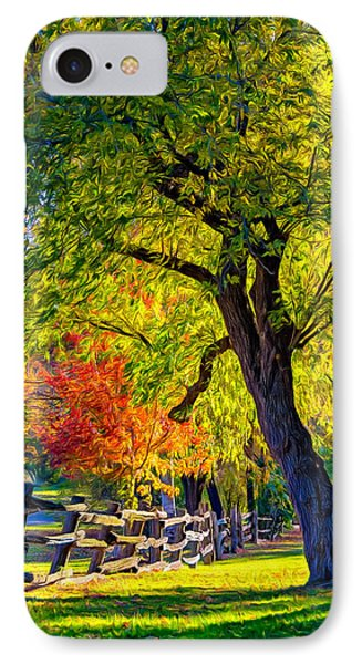 Autumn In Bolton - Paint IPhone Case by Steve Harrington