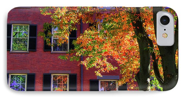 Autumn In Boston - Louisburg Square - Boston IPhone Case