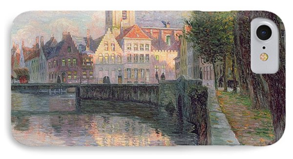 Autumn In Bruges Phone Case by Omer Coppens
