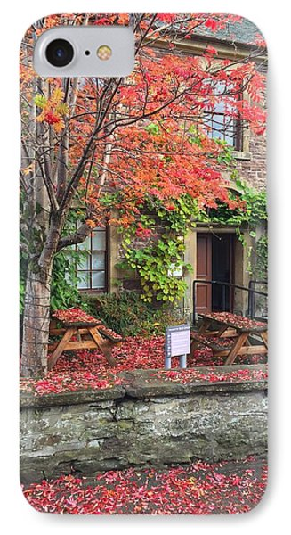 IPhone Case featuring the photograph Autumn In Dunblane by RKAB Works