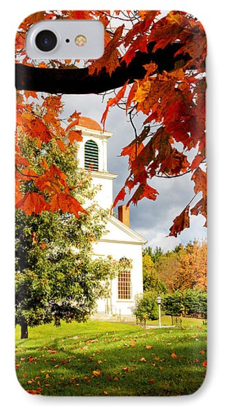 Autumn In Gilmanton IPhone Case by Robert Clifford
