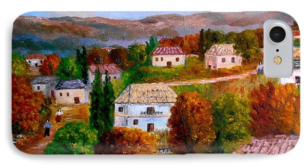 Autumn In Greece IPhone Case