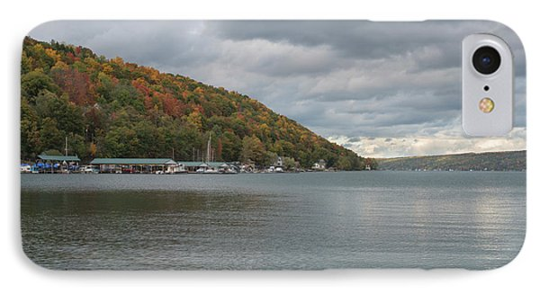 IPhone Case featuring the photograph Autumn In Hammondsport by Joshua House