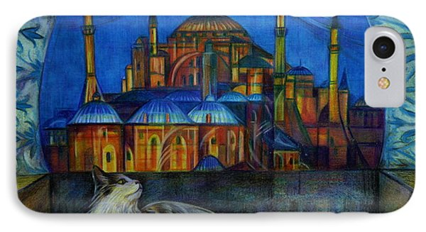Autumn In Istanbul IPhone Case