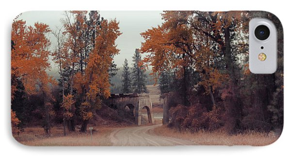 Autumn In Montana IPhone Case
