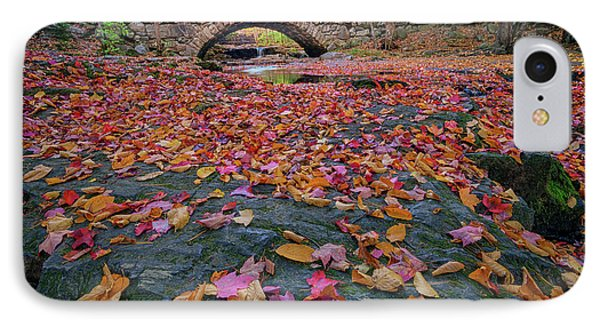 Autumn In New England IPhone Case by Rick Berk