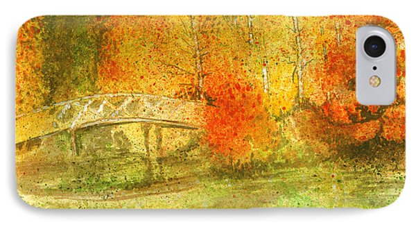 Autumn Landscape Painting  Phone Case by Remy Francis