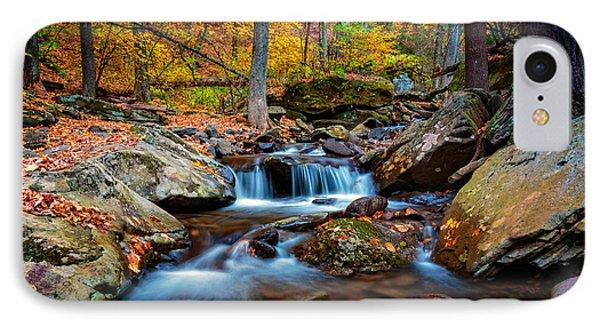 Autumn In New York IPhone Case by Rick Berk