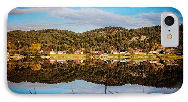 Autumn In Norway IPhone Case by Mirra Photography