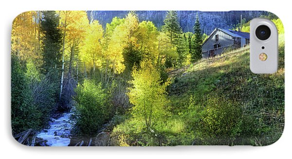 IPhone Case featuring the photograph Autumn In Ophir - Colorado - Aspens by Jason Politte