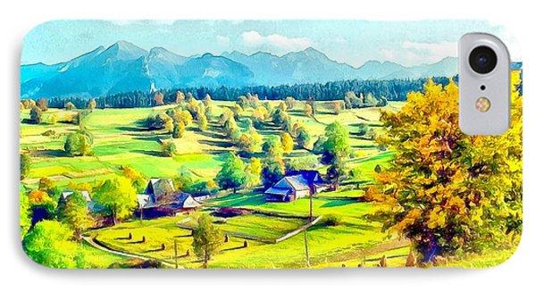 Autumn In Poland IPhone Case by Maciek Froncisz