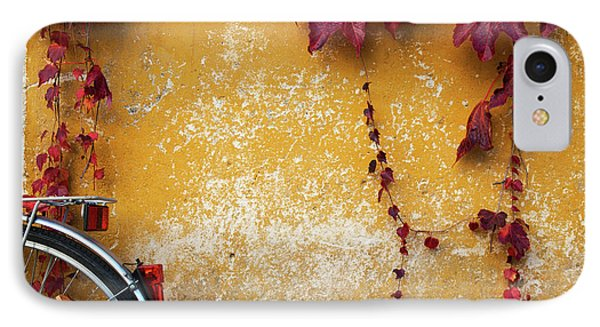 IPhone Case featuring the photograph Autumn In Red by Yuri Santin