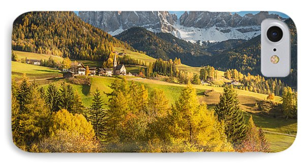 Autumn In The Alps IPhone Case