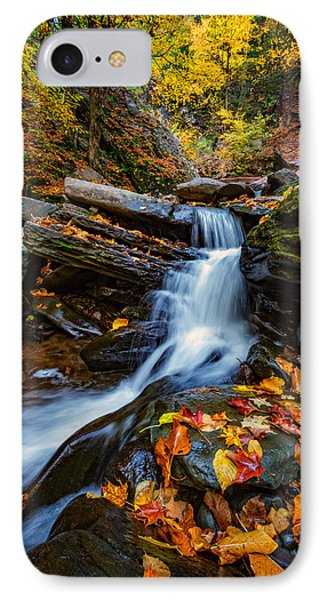 Autumn In The Catskills IPhone Case by Rick Berk