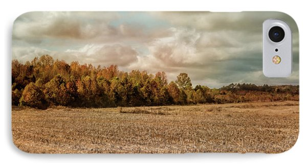 Autumn In The Country Landscape Scene IPhone Case