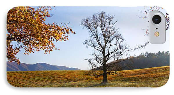 IPhone Case featuring the photograph Autumn In The Cove by Bob Decker