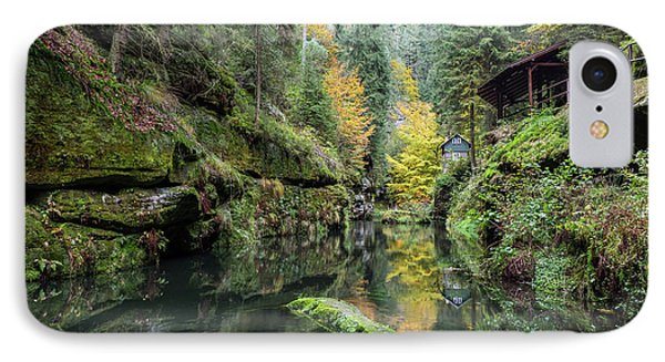 Autumn In The Kamnitz Gorge IPhone Case by Andreas Levi