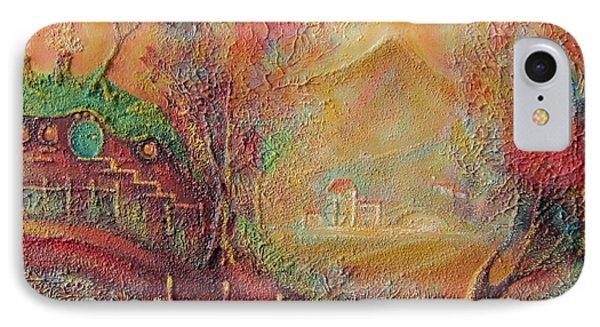 Autumn In The Shire Bag End Phone Case by Joe  Gilronan