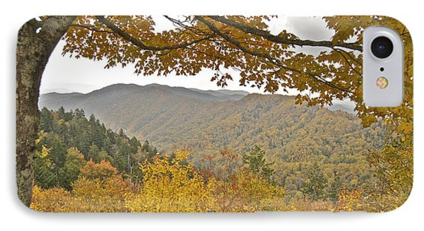 Autumn In The Smokies Phone Case by Michael Peychich