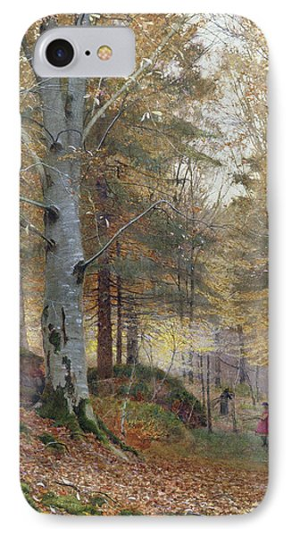 Autumn In The Woods IPhone Case