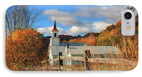 Autumn In Vermont - North Tunbridge  IPhone Case by Joann Vitali