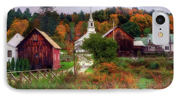 Autumn In Waits River Vermont IPhone Case