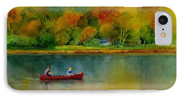 Autumn IPhone Case by Karen Fleschler