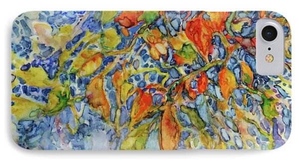 IPhone Case featuring the painting Autumn Lace by Joanne Smoley