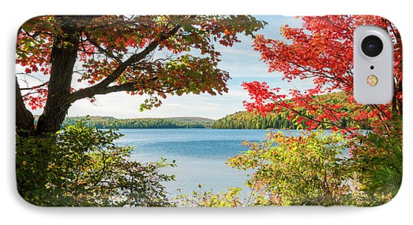 IPhone Case featuring the photograph Autumn Lake by Elena Elisseeva