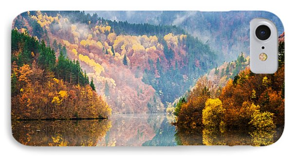 Autumn Lake IPhone Case by Evgeni Dinev