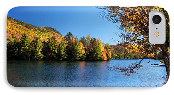 Autumn Lake In Vermont  IPhone Case