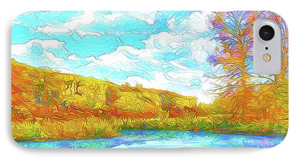 Autumn Lake Reflections - Park In Boulder County Colorado IPhone Case by Joel Bruce Wallach