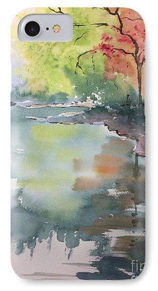 Autumn Lake Phone Case by Yohana Knobloch