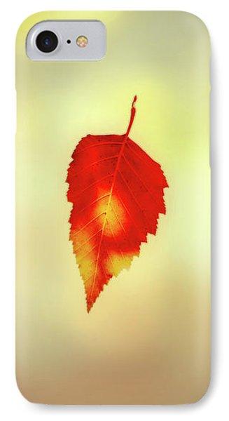Autumn Leaf Phone Case by Bob Orsillo
