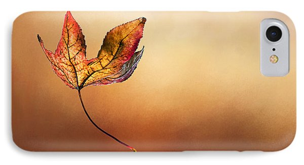 Autumn Leaf Falling By Kaye Menner IPhone Case