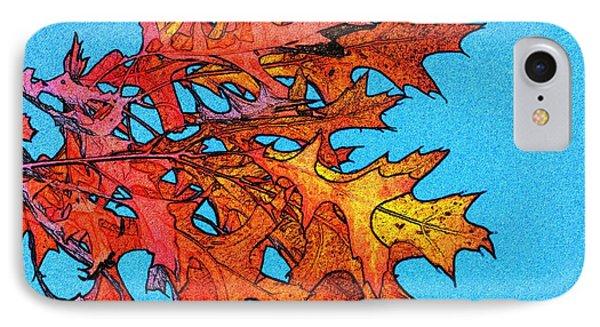 Autumn Leaves 14 Phone Case by Jean Bernard Roussilhe