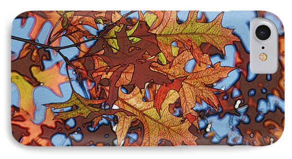 Autumn Leaves 17 - Variation  2 Phone Case by Jean Bernard Roussilhe