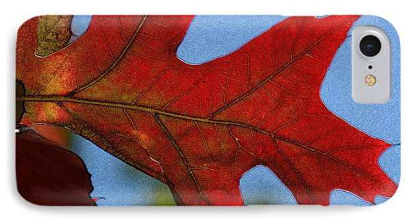 Autumn Leaves 18 Phone Case by Jean Bernard Roussilhe