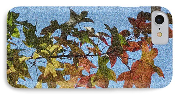 IPhone Case featuring the photograph Autumn Leaves 3 by Jean Bernard Roussilhe
