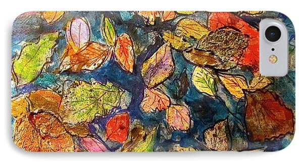 Autumn Leaves IPhone Case by Barbara O'Toole