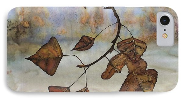 Autumn Leaves IPhone Case by Carolyn Doe