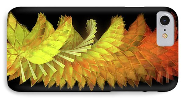 Autumn Leaves - Composition 2.3 IPhone Case