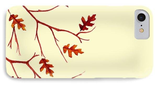 Autumn Leaves IPhone Case by Dawnstarstudios