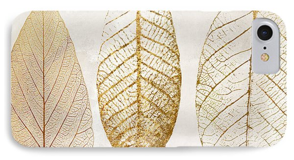 Autumn Leaves IIi Fallen Gold IPhone Case by Mindy Sommers