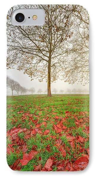 IPhone Case featuring the photograph Autumn Leaves Near To Far Super High Resolution by William Lee
