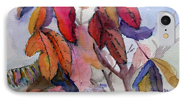 Autumn Leaves IPhone Case by Sandy McIntire